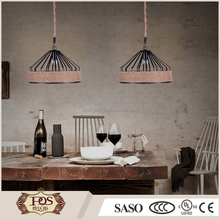 Modern hemp rope home and hotel chandelier