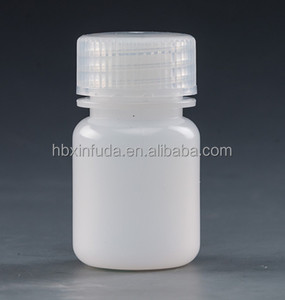 Wide mouth plastic PP/HDPE reagent bottle for chemicals 3ml-120ml
