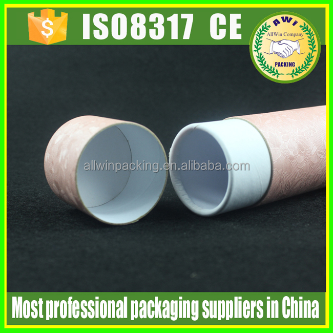 Grey Cardboard Paper Tube Paper Tube for Cosmetic