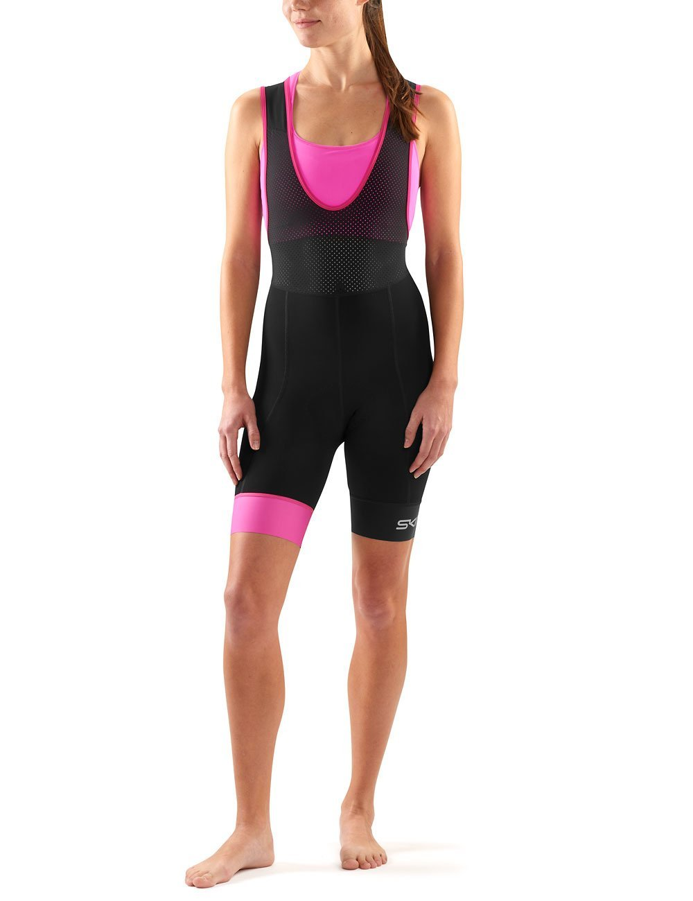 Get Quotations · Skins Women s Dynamic Cycle Compression Bib Shorts b06126ebc