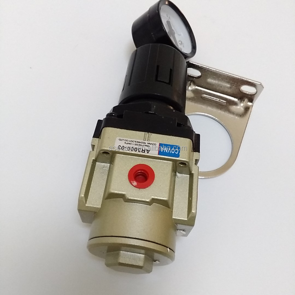 AR200001 / AR2000-02 / AR3000-03 / AR4000-04 / AR4000-06 / AR5000-10 type SMC air pressure regulator