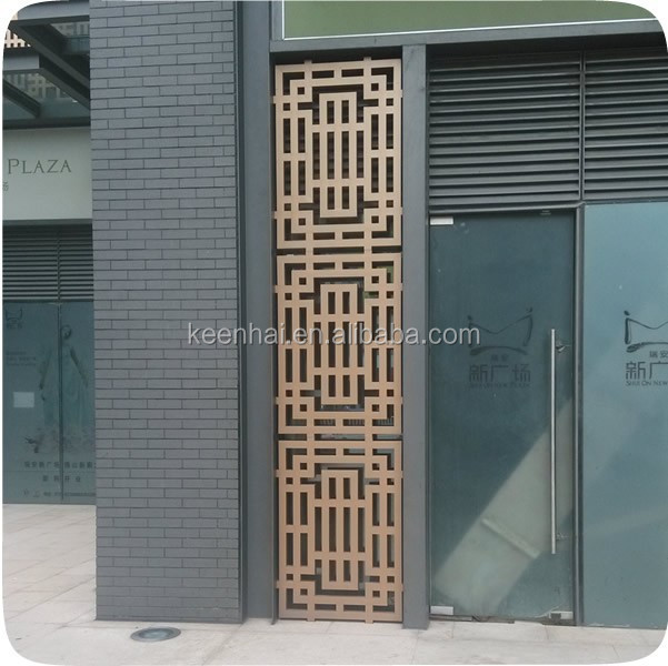 Decorativo in acciaio inox pareti in alluminio pannelli for Pannelli divisori per esterni