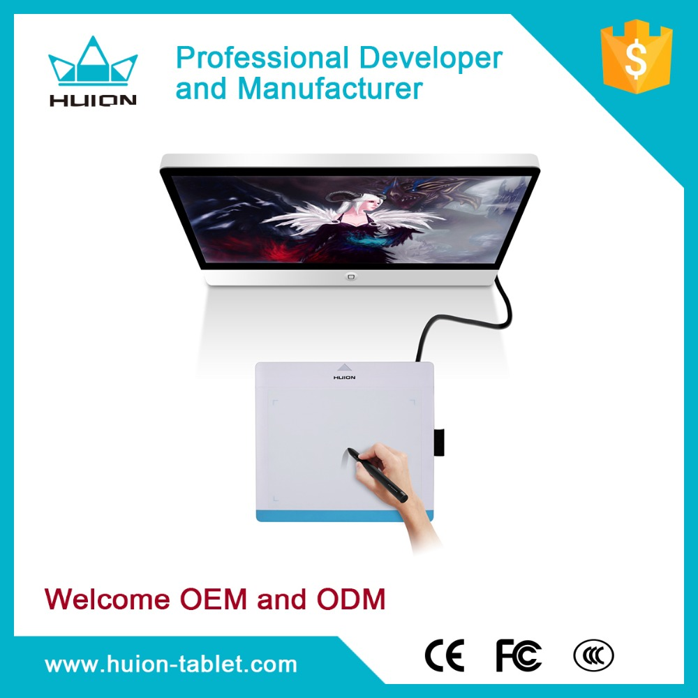 Huion 680TF TF card 220 RPS Professional Signature graphic pad and pen