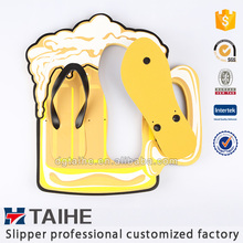 high-quality cheap wholesale custom printed color latest design eva flip flops