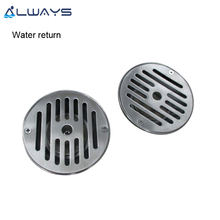 SV-1424S rcular stainless steel water return drain cover for swimming pool compact equipment
