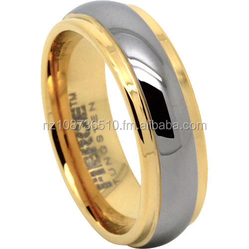 Tungsten Carbide Mens Ring With IPG
