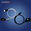 VCEEGO newest stand up usb cable for iphone IOS and for Samsung android charging usb cable for iphone