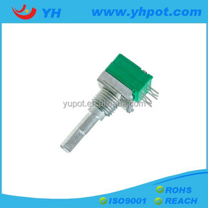 YH 9mm volume control variable resistor 5k ohm audio taper rotary potentiometer