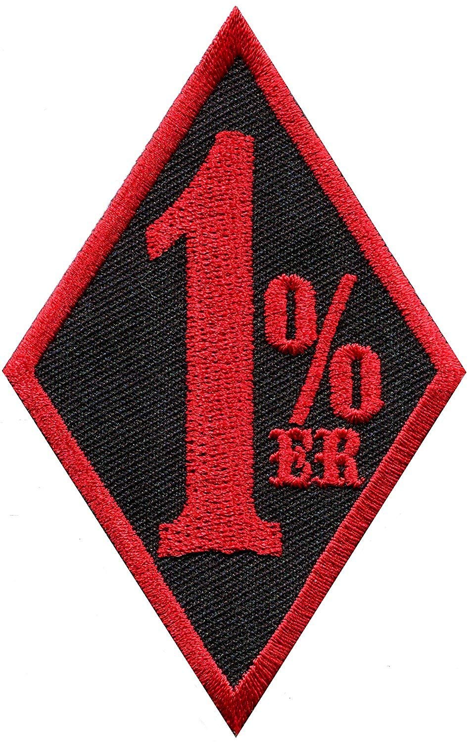 1/%er Biker Patch Sew-on  Motorcycle Embroidered Patch