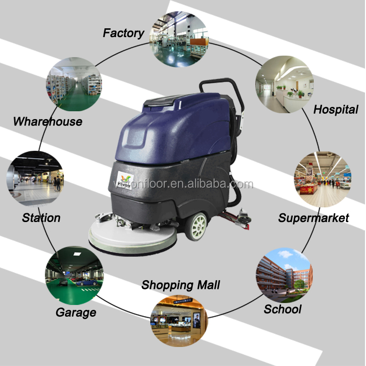 Vfs 510 Cordless Floor Cleaning Machine Wet And Dry
