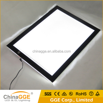 CE RoHs FCC Certificate Customized Printed Logo LED Dimmable Drawing Tables for Architects Drawing Tracing Table Light Box
