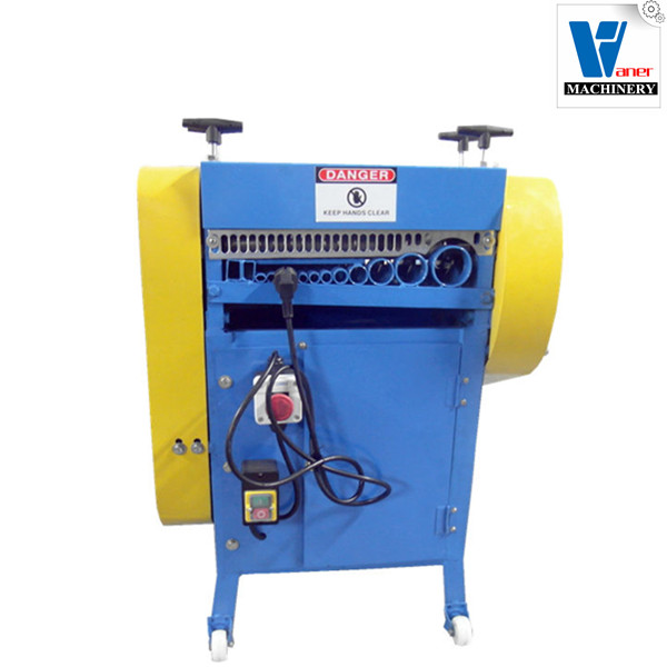 jacketed cable Auto Powered Electric Wire Stripping Machine Scrap Cable Stripper Metal copper scrap wire cut machines