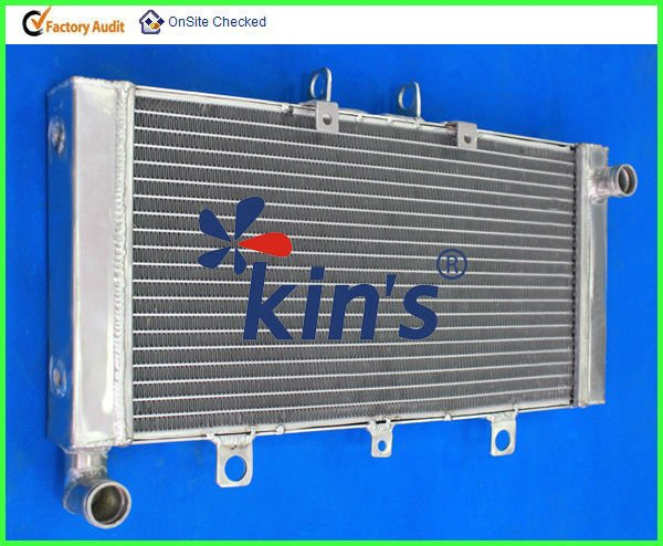 All aluminum racing Motorcycles radiator,aluminum motorcycles radiator