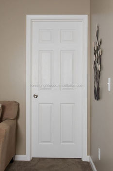 6 Panel HDF Molded Skin Door HDF Panel Door : molded door - Pezcame.Com