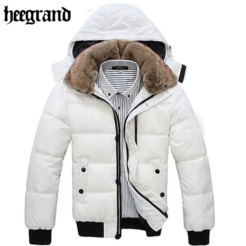 Thick Warm Men Winter Coat 2016 Hot Fashion Jacket Down Coat Men Parka Outdoor Wear High