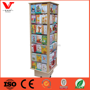 magazine china retail open book sale easel postcard display buy