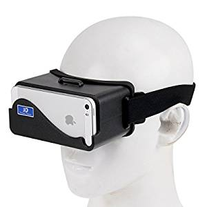 Generic NJ-3D1688A DIY 3D Google Cardboard Glasses Virtual Reality for iPhone 5 & 5S & 5C