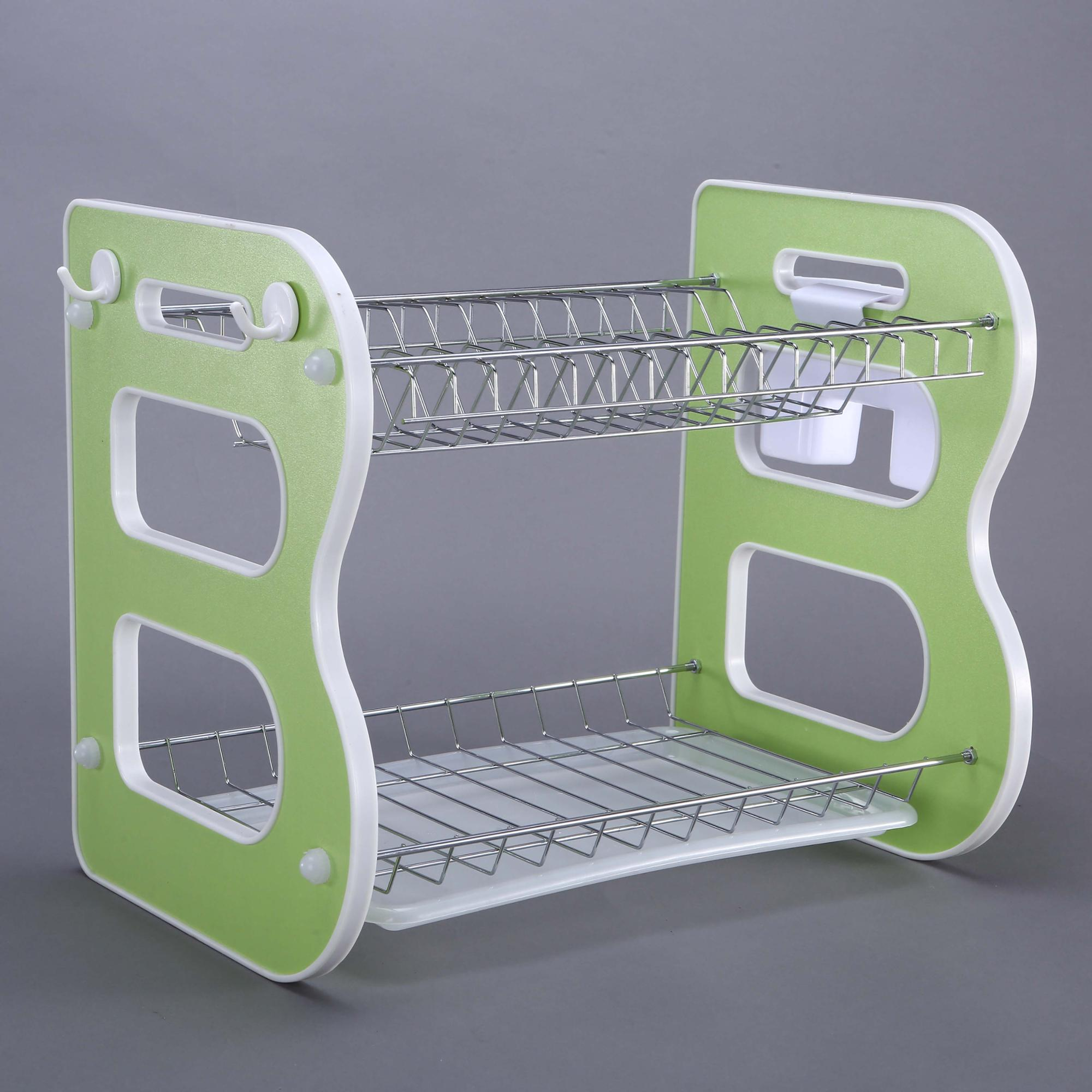 China Distributor Expandable Stackable Kitchen Cabinet Dish Drying Rack