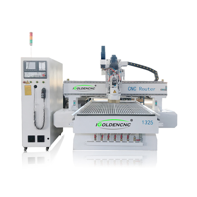 1325 Row type ATC 3/4 axis wood cnc router machine with 8 PCS tool changes