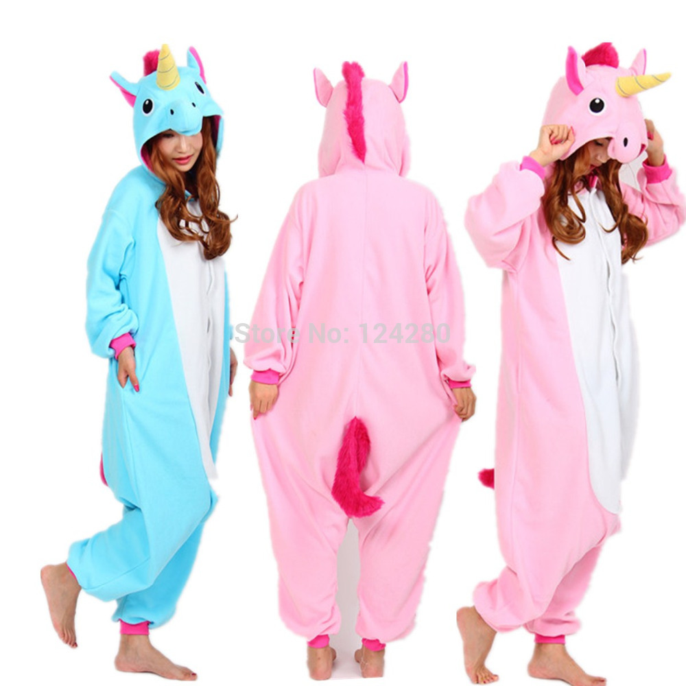 This soft grey onesie has a rainbow mane and horn to the hood so they can play unicorn. Made in fleece for a cosy feel, this unicorn onesie is ideal for lounging at home.