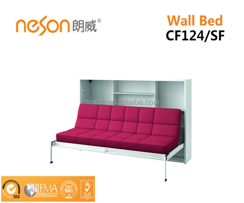 Charmant New Style Space Saving Wall Folding Sofa/desk Bed Cf124   Buy Folding Sofa  Bed,Folding Wall Bed,Wall Bed With Desk Product On Alibaba.com