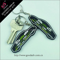 customized special 3d design car shape new types of keychain