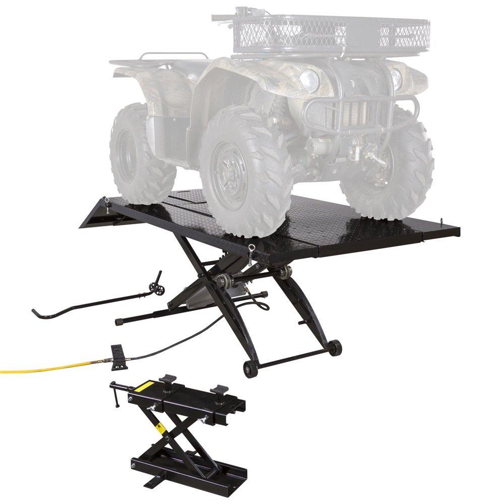 Black Widow ATV Lift Table with 4-Wheeler Center Jack