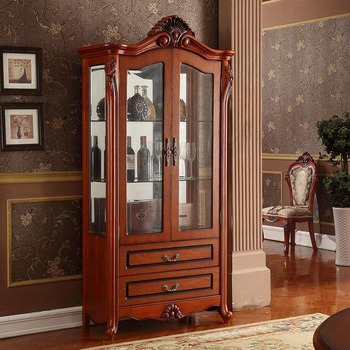 Home General Use Beautiful Display Alcohol Rack Furniture Liquor Cabinets