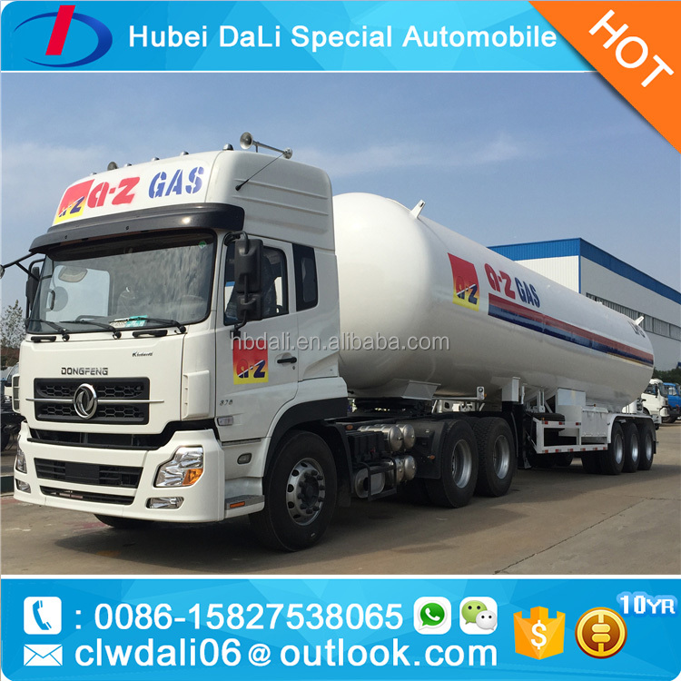 25 Ton LPG tank semitrailer for cooking gas