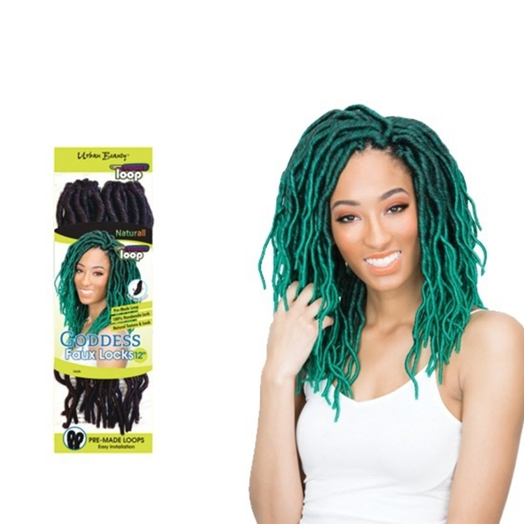 "Faux Locks Crochet 14"" 18"" Synthetic Faux Locs Crochet Braids Dreadlock Braids Crotchet Synthetic Hair Bulk For African American"