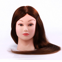 OEM service accept hairdresser cheap hair wholesale mannequin head