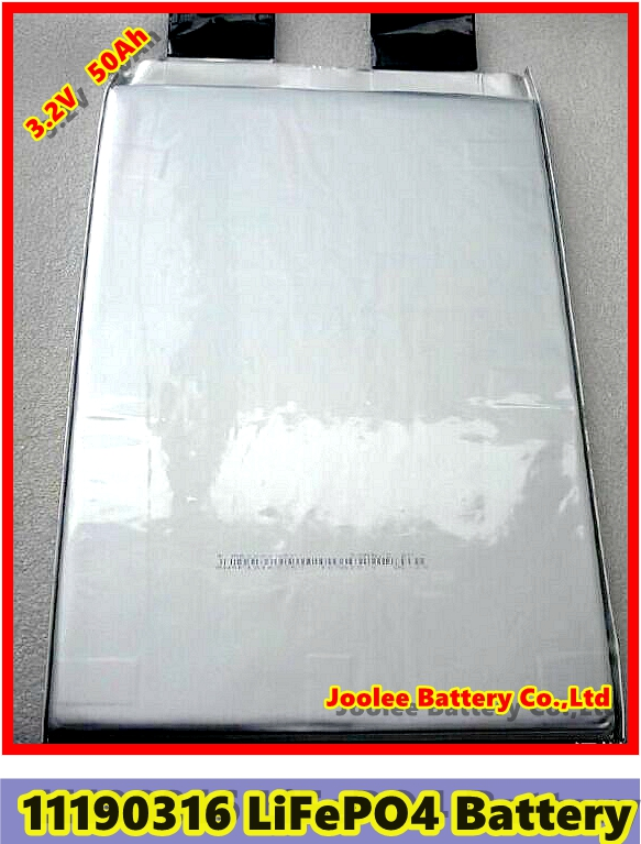 3.2V 50Ah 11190316 11*190*316mm LiFePO4 <strong>Battery</strong> for Power Storage