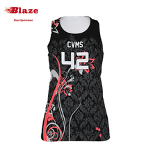 Kundenspezifische reversible <span class=keywords><strong>polyester</strong></span> mesh <span class=keywords><strong>lacrosse</strong></span> kleid uniform für frau