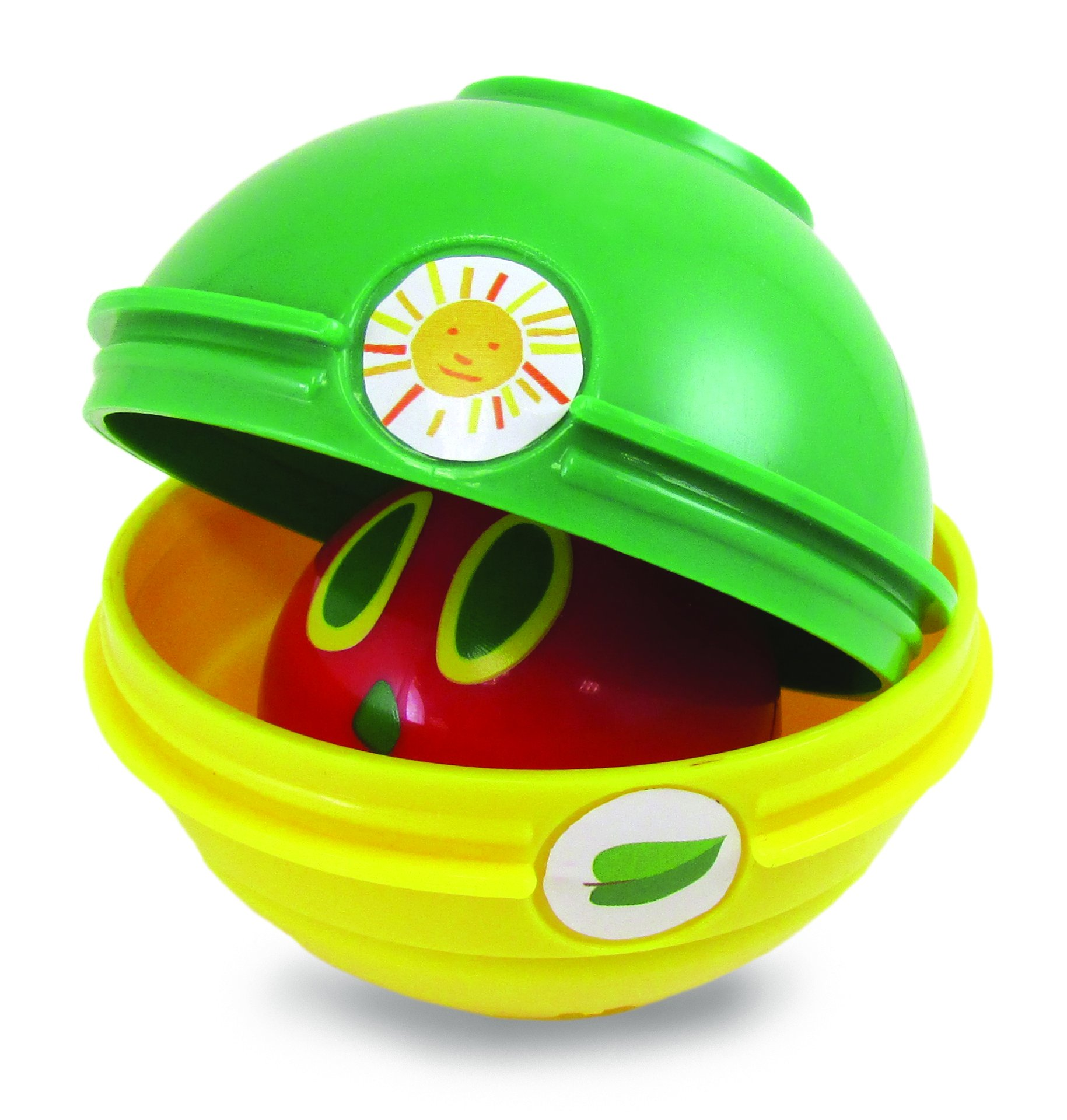 World of Eric Carle, The Very Hungry Caterpillar Stacking/Nesting/Chime Ball Toy
