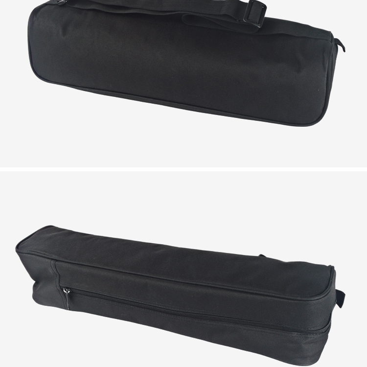 Custom wholesale portable black durable nylon camera tripod bag for Travel