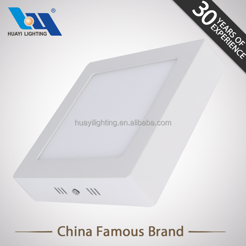 Hot selling surface mounted led panel lamp SMD square led panel light and CE ROHS 18 watt led panel lamp