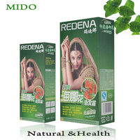 Organic henna herbal black hair dye hair color vcare shampoo dye 5 mins dye black hair shampoo