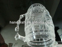 funny style diamond cup with LED light for bar party