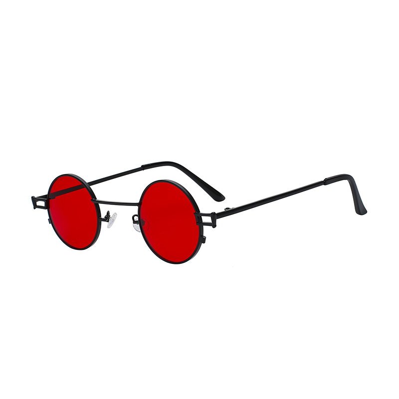 Fashion woman round metal wholesale sun glasses vintage custom sunglasses фото