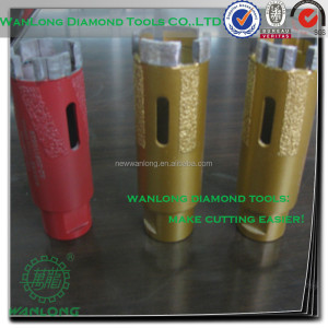 "china 1"" diamond core drill bit for porcelain tile drilling-tile processing tools manufacturer&supplier"