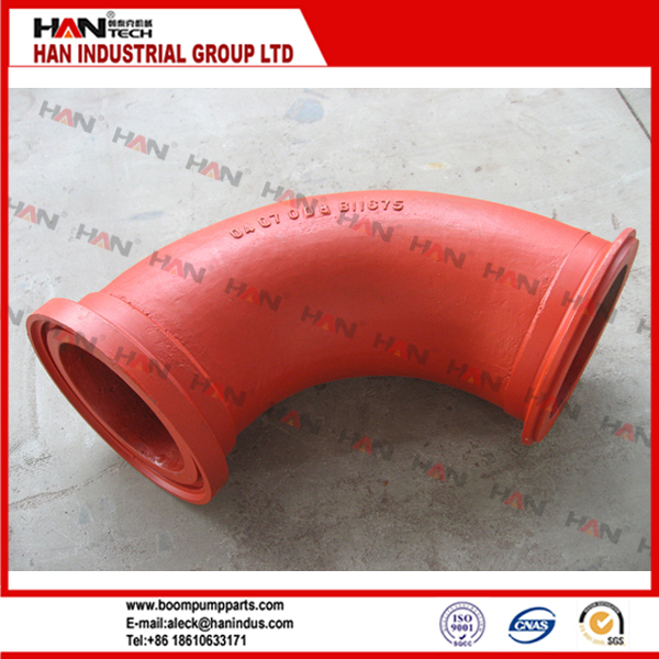 OEM:292079000 6'' elbow for Putzmeister concrete pump spare parts