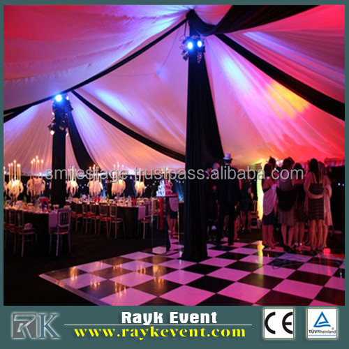 Outdoor Wedding Use Pvc Dance Flooring Interlock Plastic Dance ...