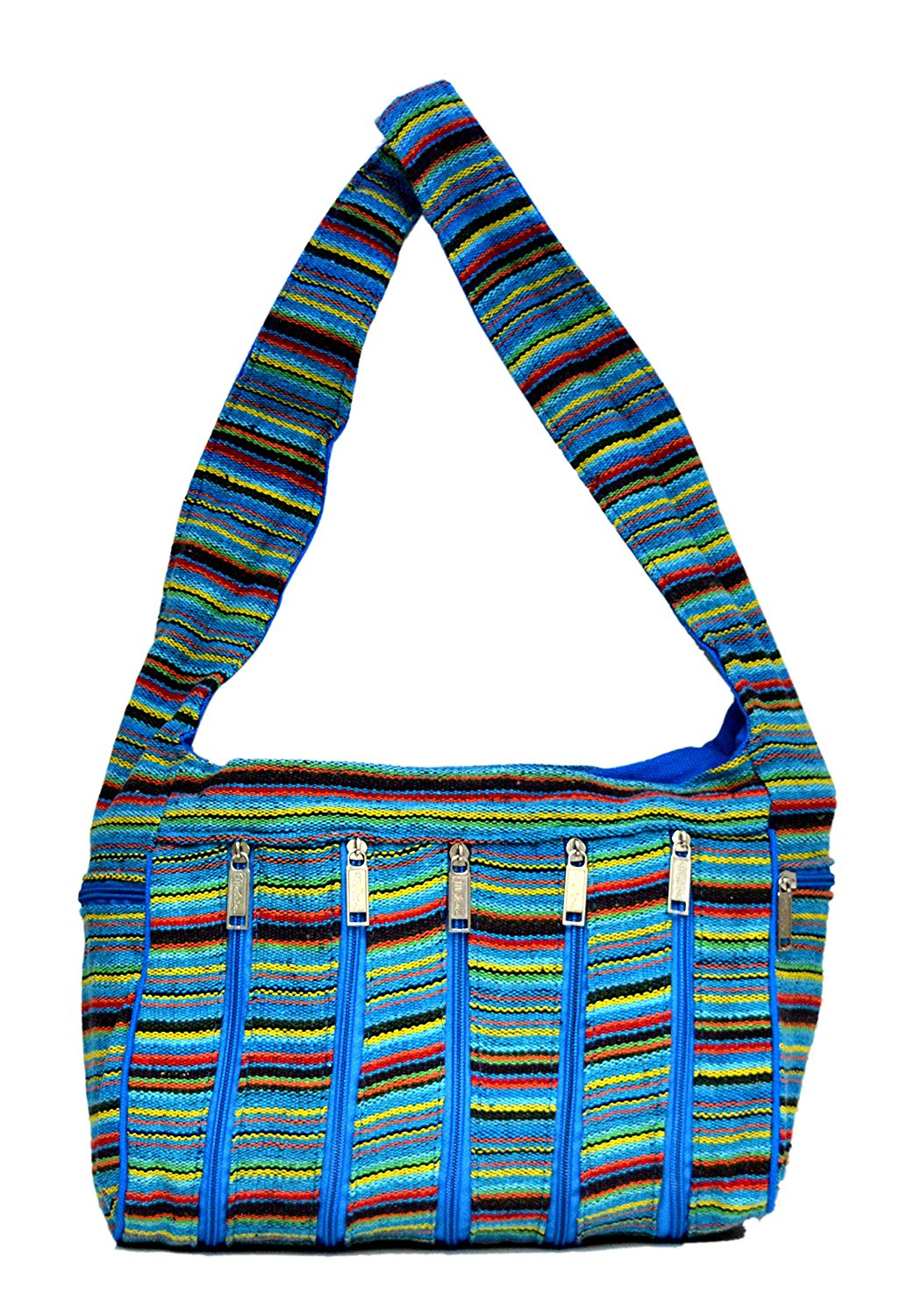 Get Quotations · Cotton Canvas Boho Handcrafted Tote Hippie Indian Shoulder  Bag 748b01c5cd786