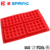 Wholesale Lightweight New Design Waffle Maker Silicone 3D Muffin Cake Pan