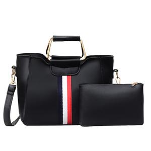 8e8576a46b6 pars high quality ladies wallet hand set bag genuine handbag set 2pcs girl  hand bag made
