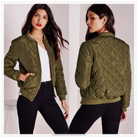 China wholesale outdoor clothes women quilted casual jacket in alibaba