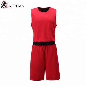 6b5616716 Blank Plain Reversible Basketball Jersey