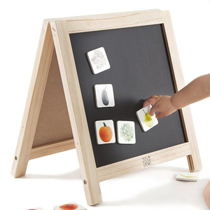 Custom color Small Table Mini Magnetic Wood Blackboard chalkboard