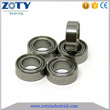 SSMR74ZZ 4x7x2.5mm stainless steel bulk fishing tackle bearings