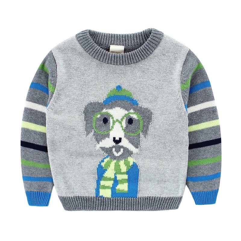 Excepcional Suéter Del Perro Patrones Libres De Tejer Ornamento ...